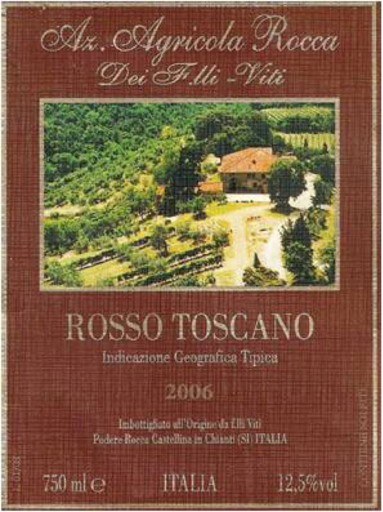 Rosso Toscano IGT